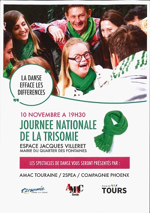 Affiche de la journée nationale de la Trisomie