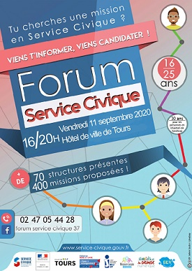 Forum de mobilisation service civique
