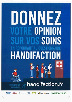 Affiche du site handifaction