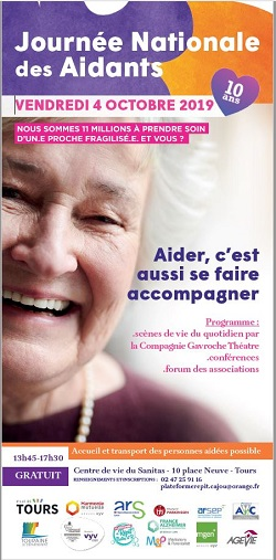 flyer de la journée nationale des aidants