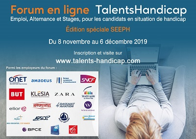 Affiche du forum talents handicap