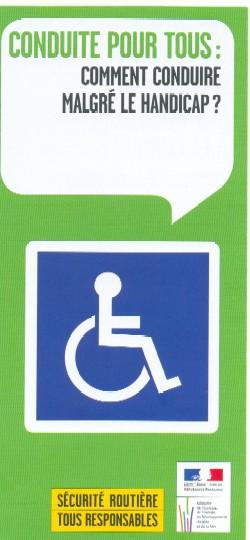 conduire malgr le handicap documentation maison d partementale des personnes handicap es. Black Bedroom Furniture Sets. Home Design Ideas