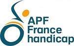 Logo de l'association des paralysés de France, France handicap