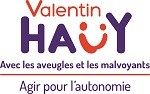logo de l'association Valentin Haüy