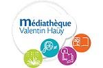 Logo de la médiathèque valentin Haüy