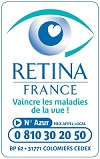 logo de l'association Rétina France